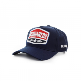 DSQUARED2 '1964 1995' CAP IN NAVY BLUE