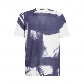 CP COMPANY TRACERY T-SHIRT IN BLUE