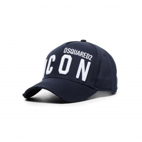 DSQUARED2 BE ICON CAP IN NAVY