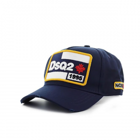 DSQUARED2 '1995 NO WAY OUT' CAP IN BLUE