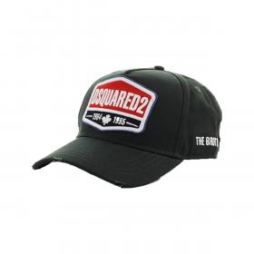 DSQUARED2 '1964 1995' CAP IN BLACK
