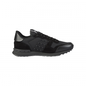 VALENTINO ROCKRUNNER TRAINERS IN BLACK