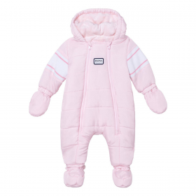 BOSS BABY GIRL PINK ALL IN 1 SNOWSUIT