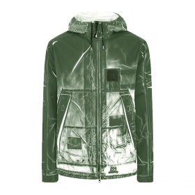 CP COMPANY UE TRACERY JACKET IN GREEN
