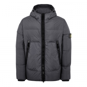 STONE ISLAND CRINKLE REPS NY DOWN JACKET IN CHARCOAL