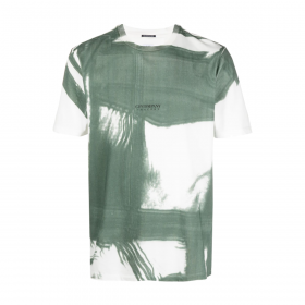 CP COMPANY TRACERY T-SHIRT IN GREEN