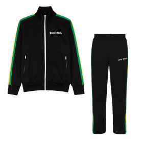 PALM ANGELS EXODUS TRACKSUIT IN BLACK