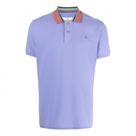 VIVENNE WESTWOOD CLASSIC POLO STRIPE COLLAR IN LILAC