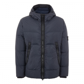 STONE ISLAND CRINKLE REPS NY DOWN JACKET IN NAVY