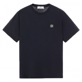 STONE ISLAND SLIM FIT T-SHIRT IN NAVY