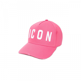 DSQUARED2 ICON CAP IN PINK