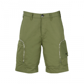 STONE ISLAND SHADOW PROJECT CARGO SHORTS IN GREEN