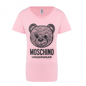 MOSCHINO WOMANS T-SHIRT IN PINK