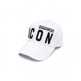 DSQUARED2 ICON CAP IN WHITE
